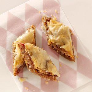 Buttery Rhubarb Baklava