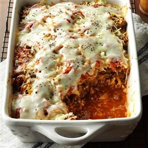 Day 16: Cabbage Roll Casserole