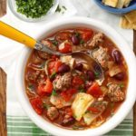 Cabbage and Beef Soup