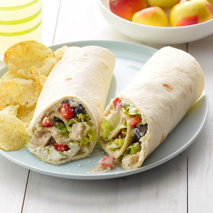 Caesar Chicken Wraps