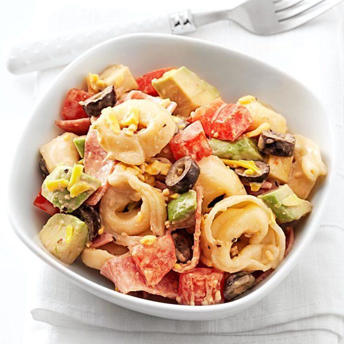 Caesar Tortellini Salad