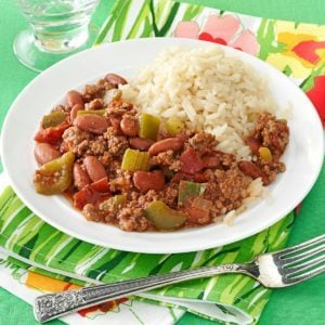 Cajun Beef and Beans