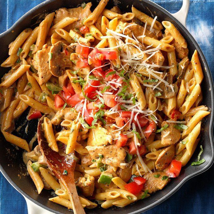 Cajun Chicken & Pasta
