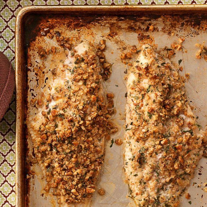 Arkansas: Cajun Pecan Catfish