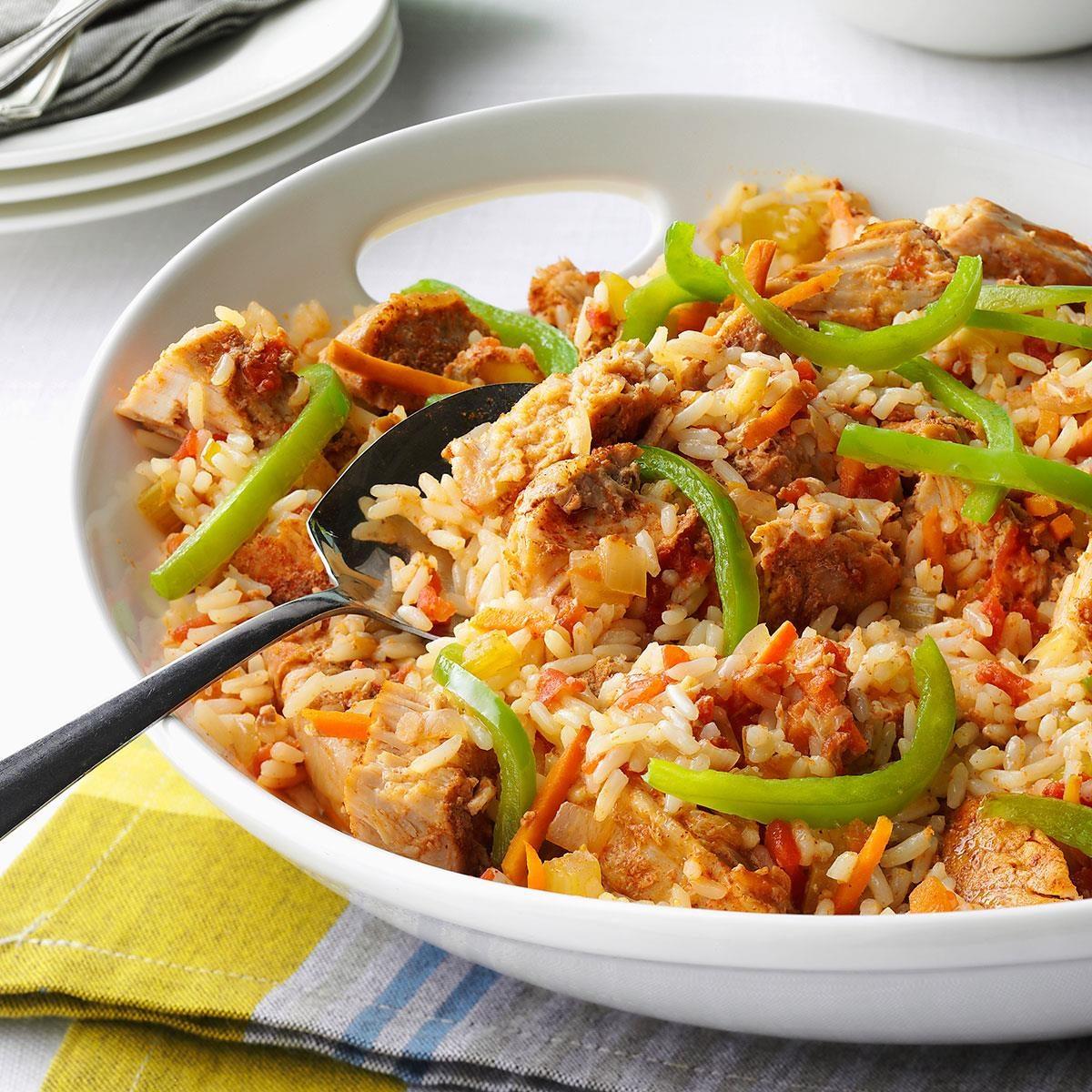 Day 14: Cajun Pork and Rice