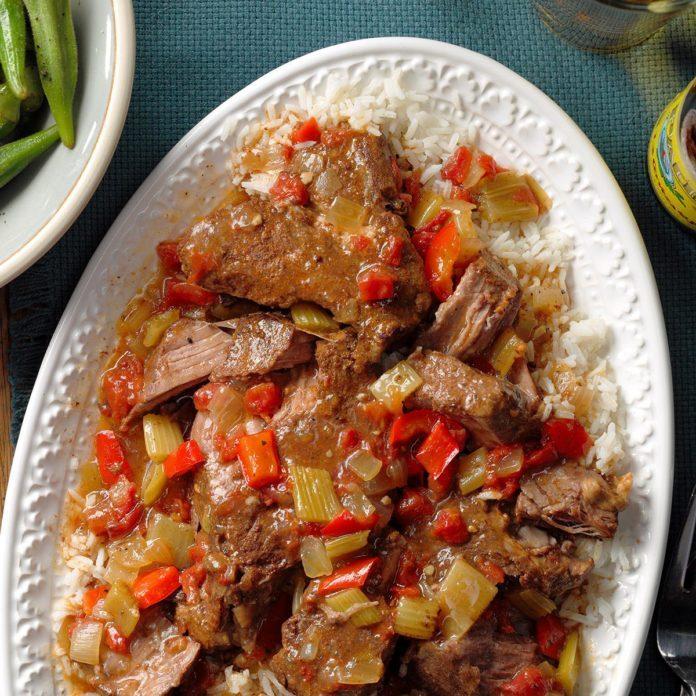 Day 27: Cajun-Style Pot Roast