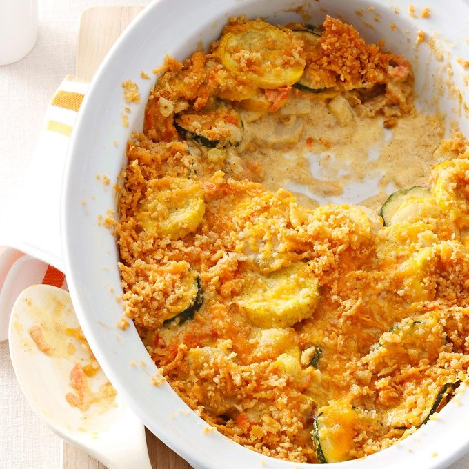 Inspired by: Squash Casserole