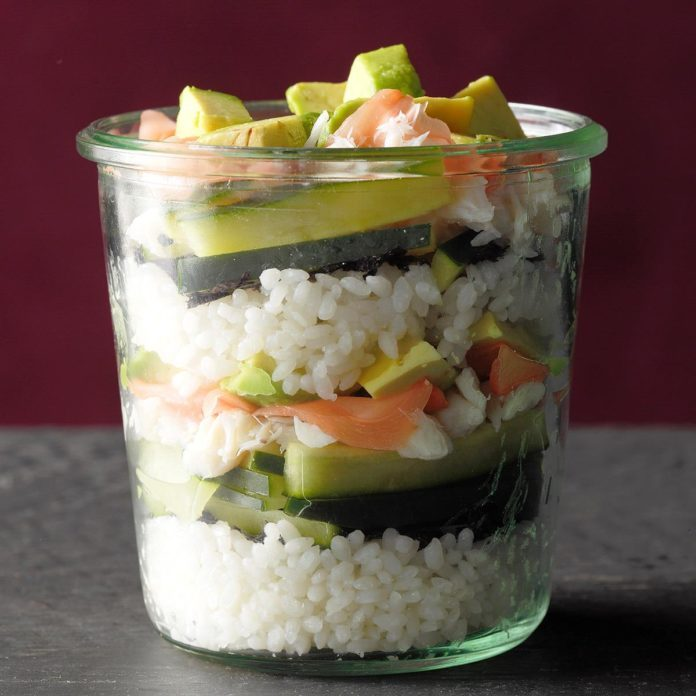 California Roll in a Jar