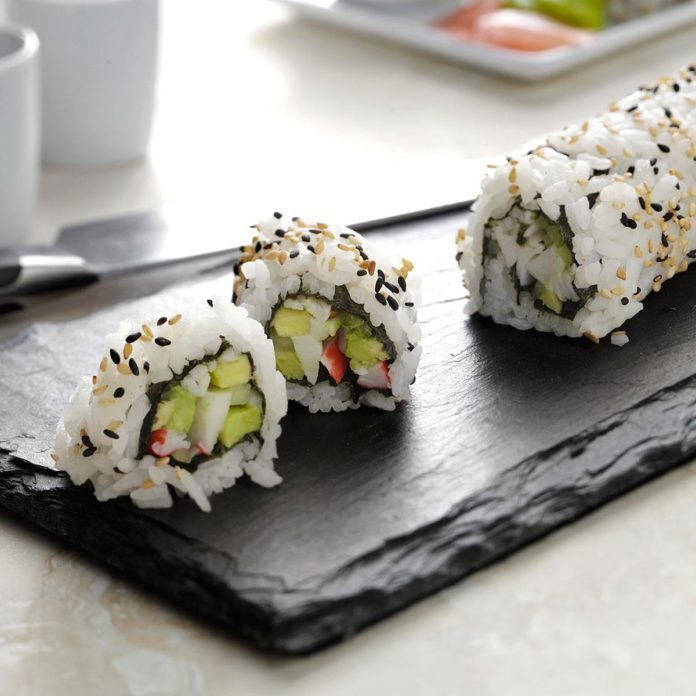 Inspired by: PF Chang's California Roll