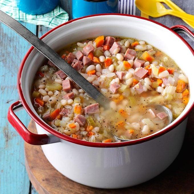 Campfire Bean 'N' Ham Soup