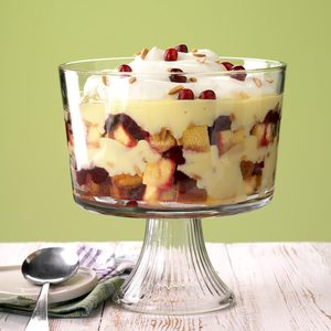Canadian Cranberry Trifle