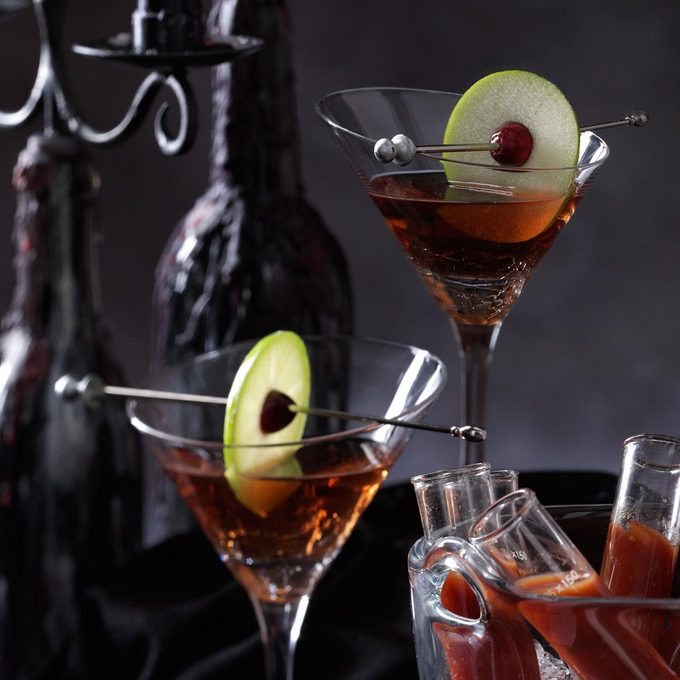 Candy Apple Martini