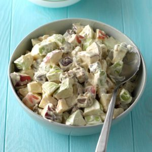 Candy Bar Apple Salad
