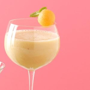Cantaloupe Banana Smoothies