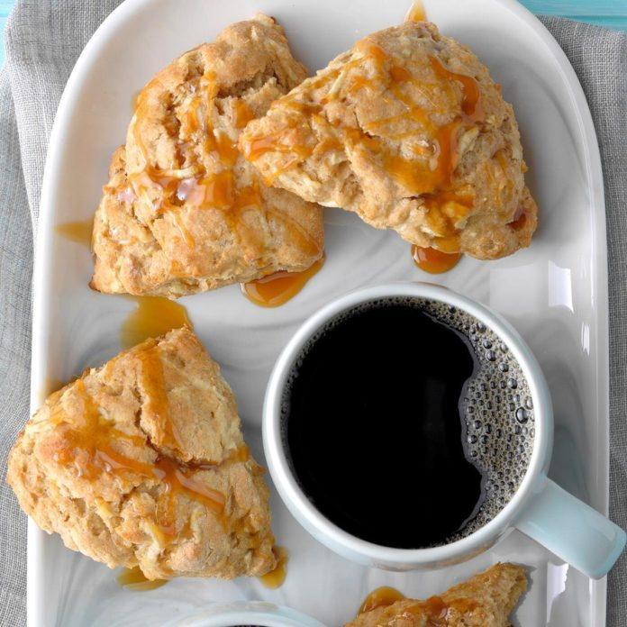Inspired by: Caramel Apple Thumbprint Scone