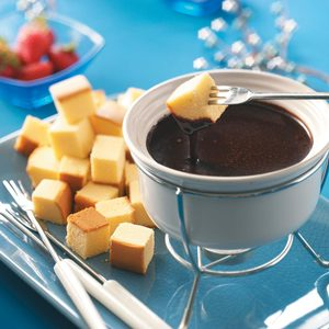 Caramel Chocolate Fondue