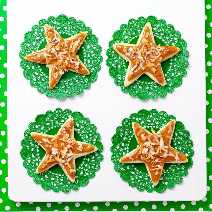 Caramel Coconut Stars