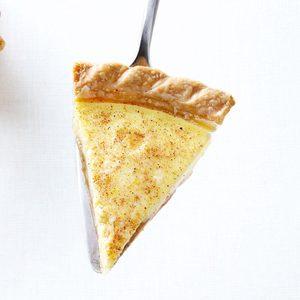 Caramel Custard Pie