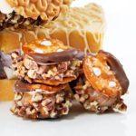 Caramel-Pecan Ice Cream Sandwiches