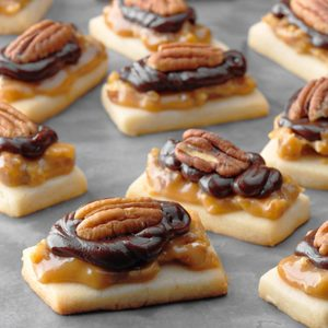 Caramel Pecan Shortbread
