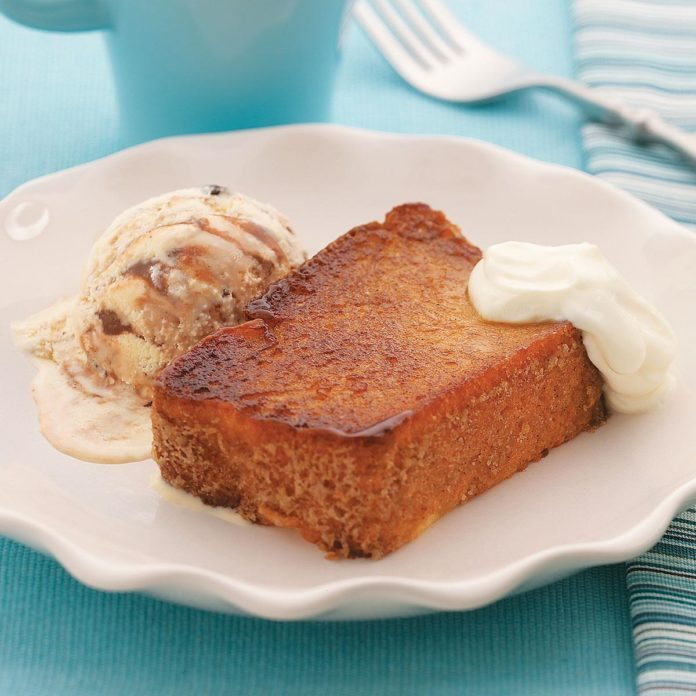 Caramelized Angel Food Cake Sundaes