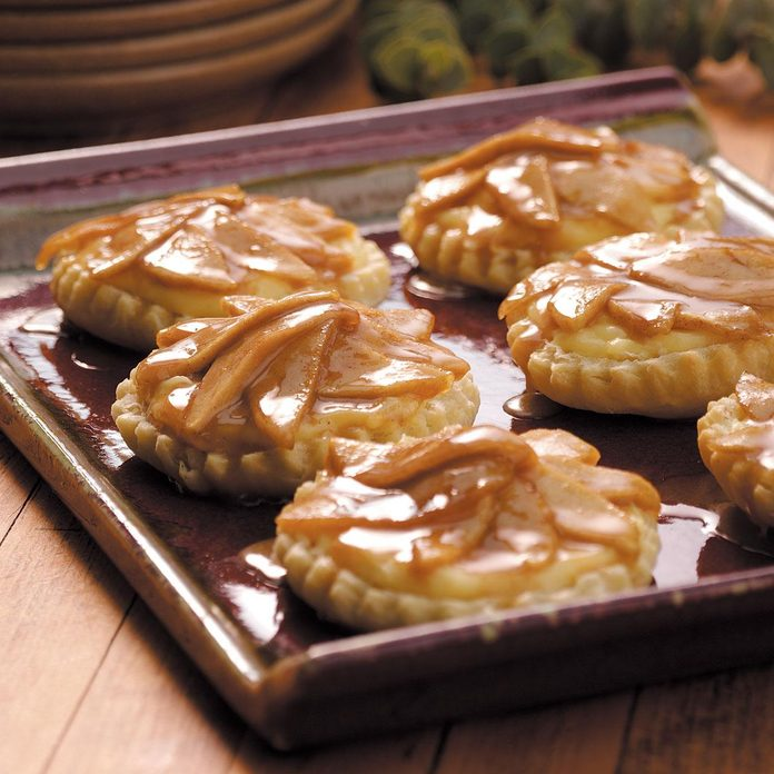 Caramelized Apple Tarts