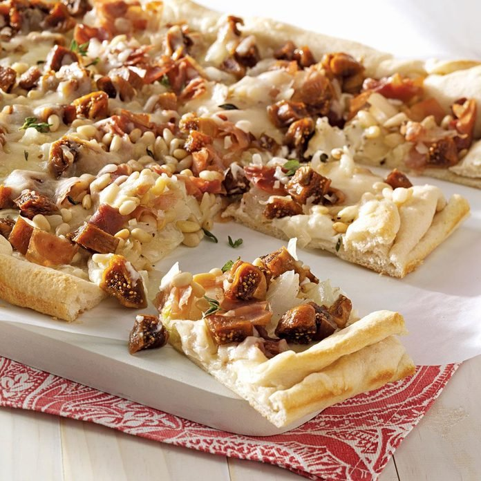 Caramelized Onion & Fig Pizza