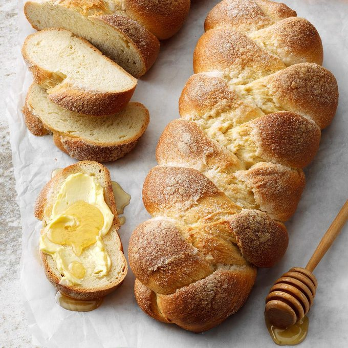 Goes with Squash Soup: Cardamom Braids