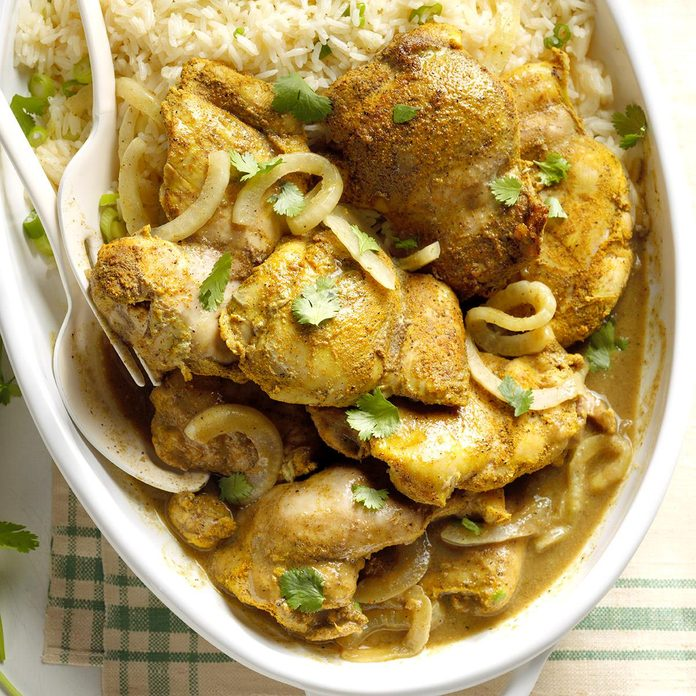 Day 25: Caribbean Curried Chicken