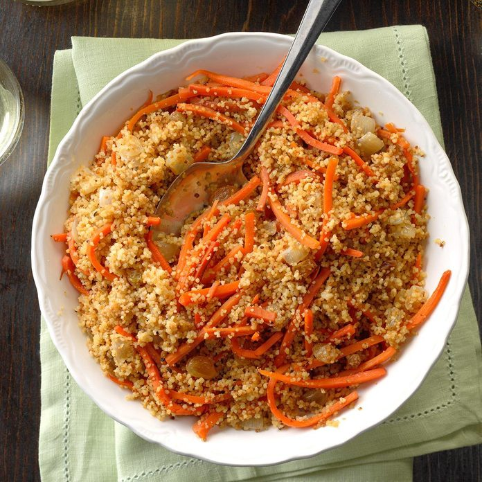 Carrot Raisin Couscous
