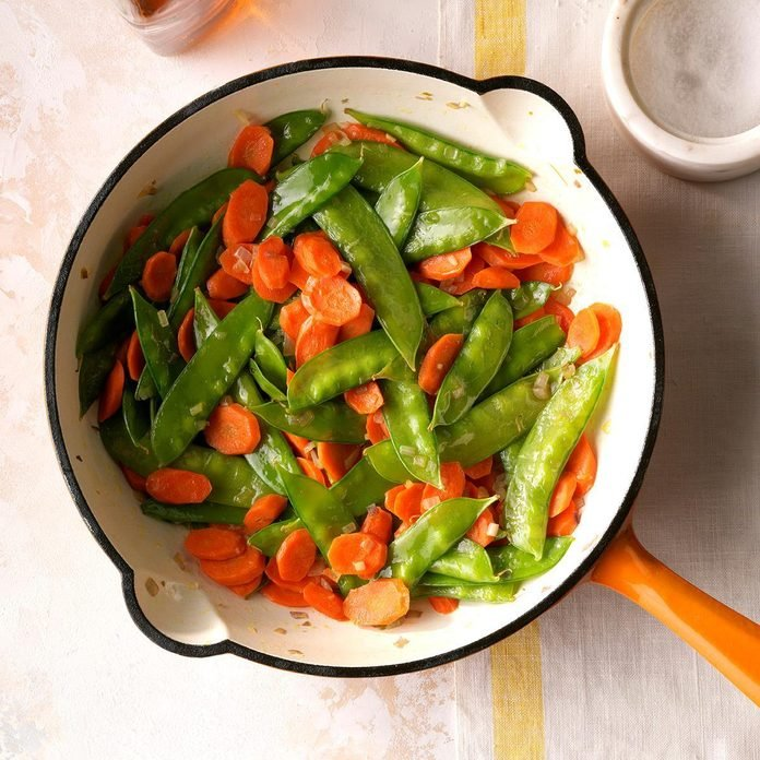 Carrots and Snow Peas