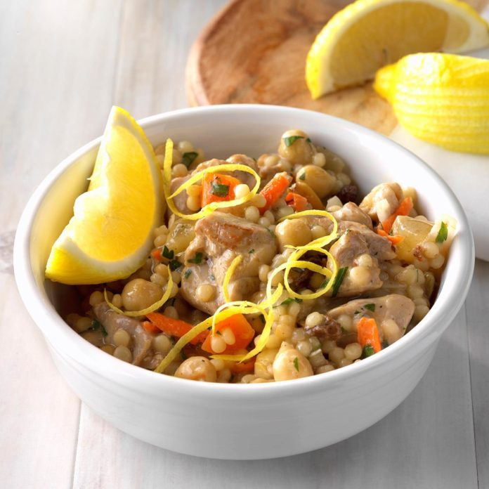 Casablanca Chicken Couscous
