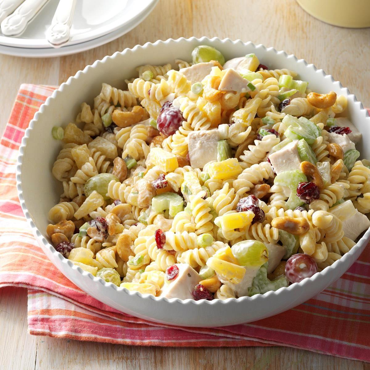 Cashew Chicken Rotini Salad Taste Of Home
