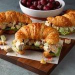 Cashew Chicken Salad Sandwiches