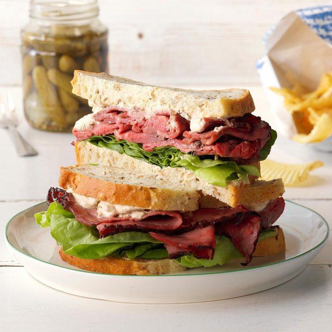 Champion Roast Beef Sandwiches