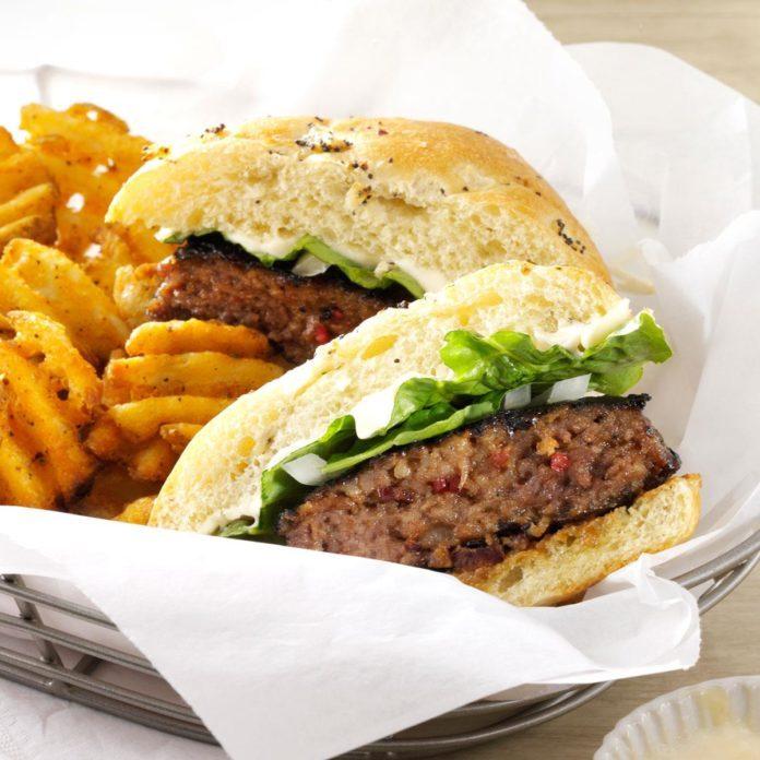 Cheddar-Bacon Burgers