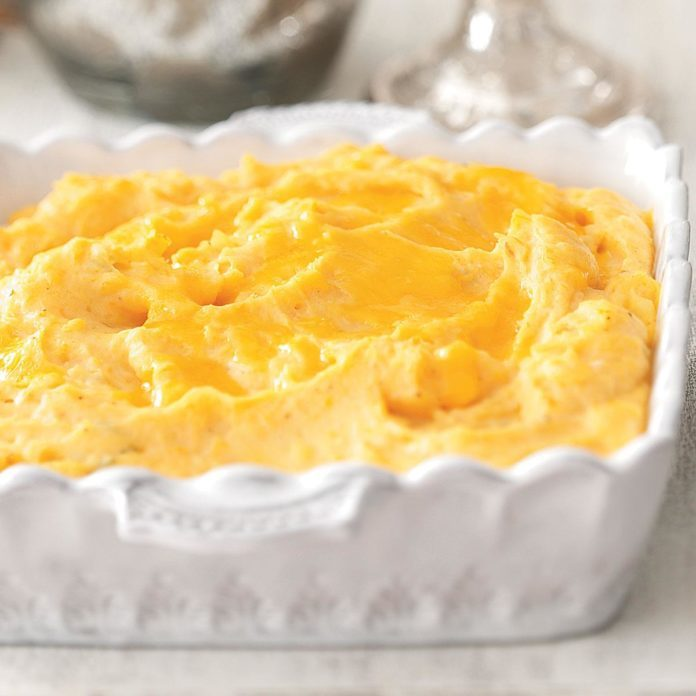 Cheddar Cheese Mashed Potatoes