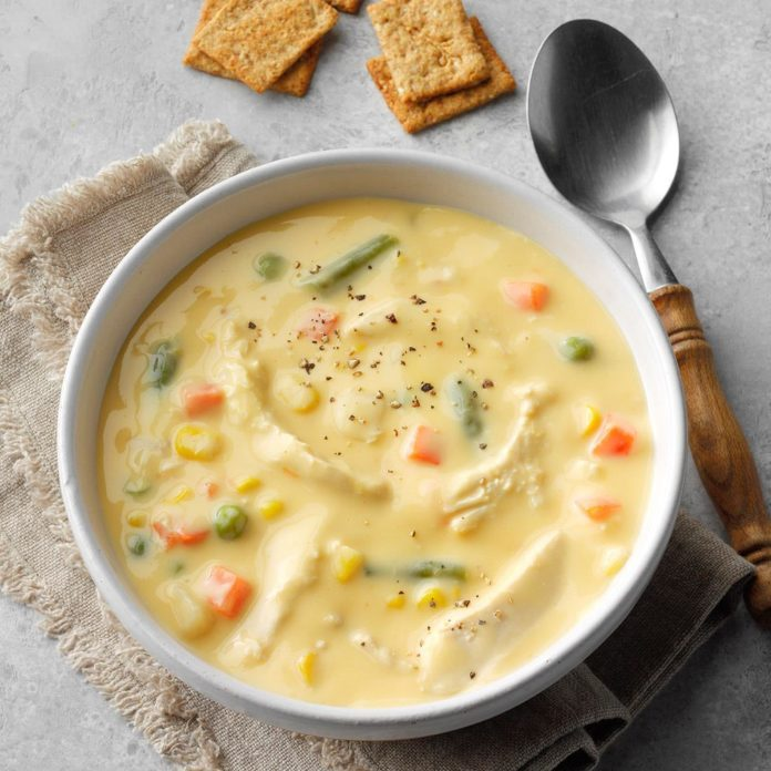 Cheese Chicken Soup Recipe