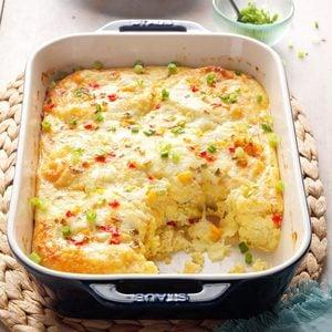 Cheese & Crab Brunch Bake