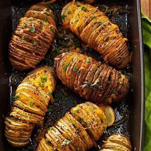 Cheese & Herb Potato Fans