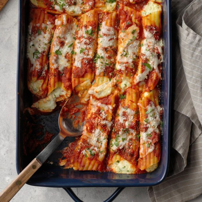 Cheese Manicotti