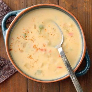 Cheese Pepper Soup