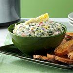 Cheese-Trio Artichoke & Spinach Dip