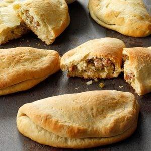 Cheese 'n' Sausage Calzones