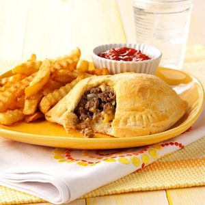 Cheeseburger Pockets