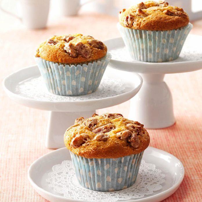 Inspired by: Starbucks' Pumpkin Cream Cheese Muffin