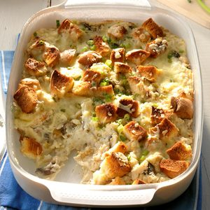 Cheesy Bacon Ranch Potato Stuffing