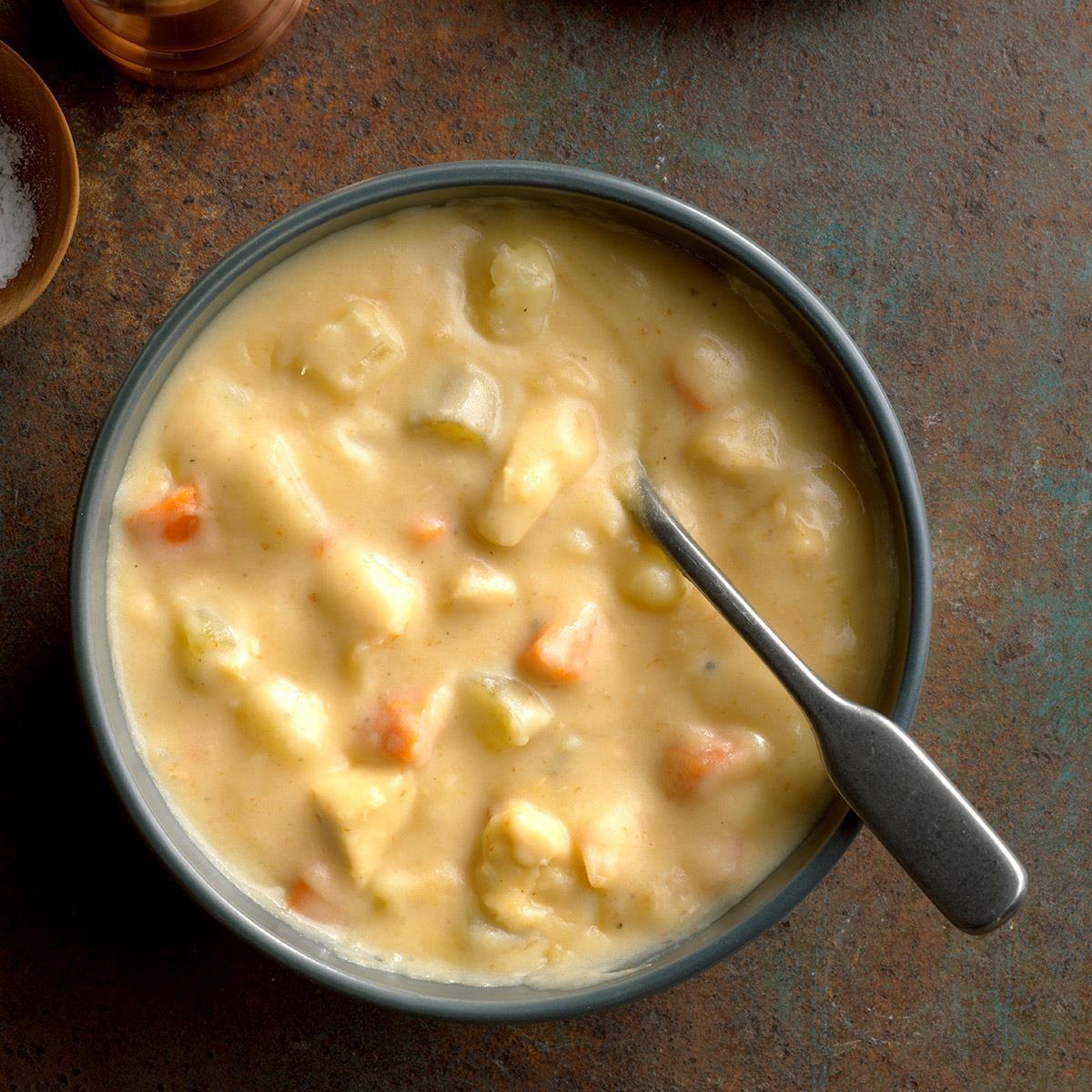 Cheesy Chicken Chowder