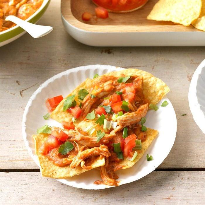 Cheesy Chicken Taco Dip