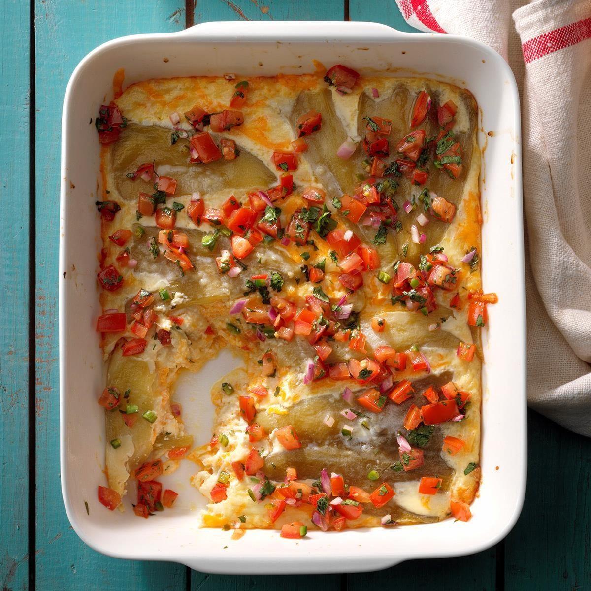 Cheesy Chile Casserole